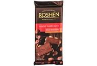 Шоколад Roshen екстрачорний з цілими лісовими горіхами 90г
