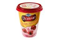 Десерт сирковий Lactel Дольче вишня 3,4% 400г