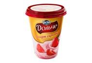 Десерт сирковий Lactel Дольче полуниця 3,4% 400г