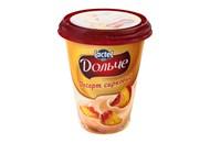 Десерт сирковий Lactel Дольче персик 3,4% 400г