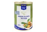 Оливки Metro Chef зелені без кісточки 425мл