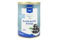 Оливки Fine Life чорні без кісточки великі 400г
