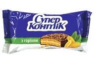 Печиво-сендвіч Konti Супер-Контік з горіхом 100г