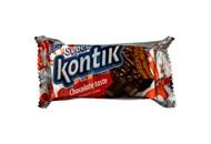 Печиво-сендвіч Konti Супер Контік шоколадний смак 100г
