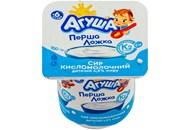 Сир кисломолочний Агуша для дітей від 6 місяців 4,5% 100г