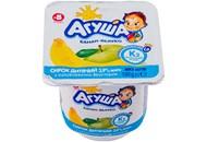 Сирок Агуша банан-яблуко для дітей від 8 місяців 3,9% 100г