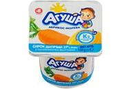 Сирок Агуша абрикос-морква для дітей від 8 місяців 3,9% 100г