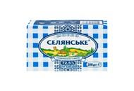 Масло Селянське солодковершкове 72.5% 200г