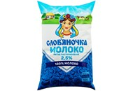 Молоко Слов`яночка пастеризоване питне 2,5% 870г