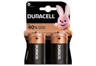 Елемент живлення Duracell лужний D 1,5V 2шт