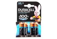 Батарейка Duracell AA 1.5V LR6 4шт/уп