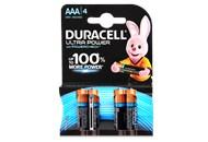 Батарейка Duracell AAA 1.5V LR03 4шт/уп