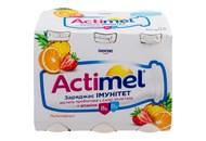 Продукт кисломолочний Actimel мультифрукт 1,5% 100г