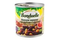 Квасоля Bonduelle червона з кукурудзою в соусі чилі 430г