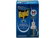 Засіб Raid проти комарів д/електрофумигатора 60 ночей 43,8мл